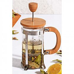 French press s bambusovým viečkom Bisous, 350 ml